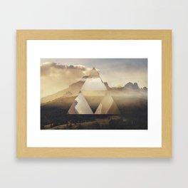 Hyrule - Power of the Triforce Framed Art Print