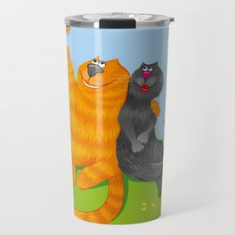 Cat lovers Travel Mug