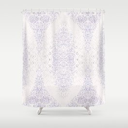 Snake Skin-light Shower Curtain