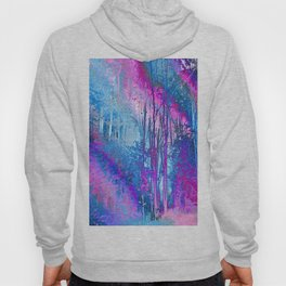 Psychedelic Forest (blue-pink) Hoody