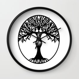 Goddess Tree Wall Clock