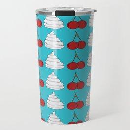 cherries and cream  Travel Mug