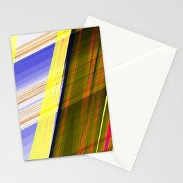 Fractal Stripes Stationery Cards