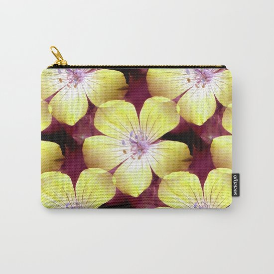 Summery Yellow.... Carry-All Pouch