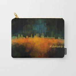 Kansas City Skyline UHq v4 Carry-All Pouch