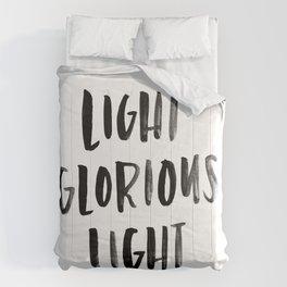 Light Glorious Light Comforters