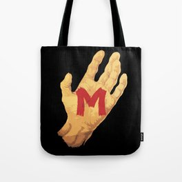 The Hand and the Murderer Tote Bag