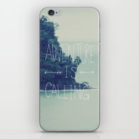 island iPhone & iPod Skins featuring Adventure Island by Leah Flores