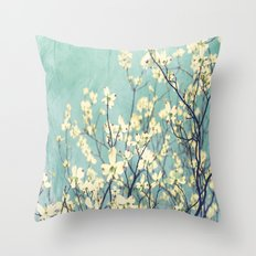 Purely Spring Throw Pillow