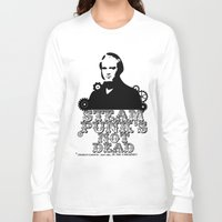 darwin Long Sleeve T-shirts featuring Darwin was a punk by pruine