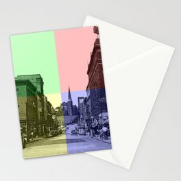 Baltimore St., Cumberland, Md. Stationery Cards