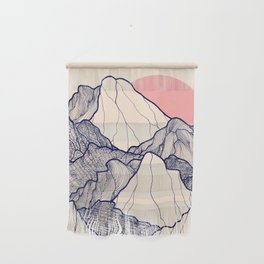 The calm morning mountains Wall Hanging