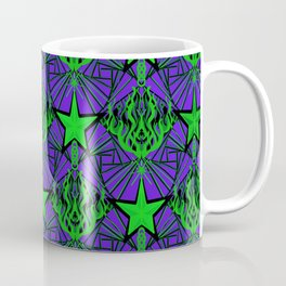 Starfire Kaleidoscope (Acid Comet) Coffee Mug
