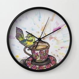 A Special Guest Wall Clock