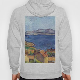 1885 - Paul Cezanne - The Bay of Marseilles, Seen from L'Estaque Hoody
