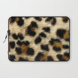 Leopard Print Pattern Animal Print Design Laptop Sleeve