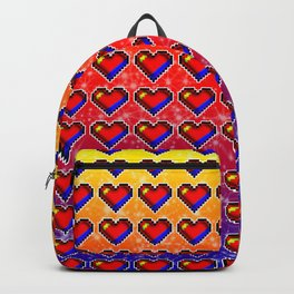 Ruby Hearts Backpack