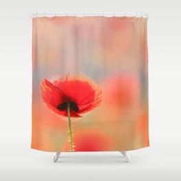 Poppy Dream Shower Curtain