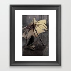 El Paraguas Framed Art Print