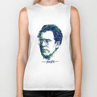 gustav klimt Biker Tanks featuring Gustav Mahler by Fortissimo6