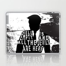Shatter Me - Hell Is Empty Laptop & iPad Skin