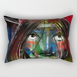 Beyond Tiger Lily Rectangular Pillow