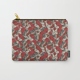 Reindeer Pug Carry-All Pouch