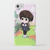 shinee iPhone & iPod Cases featuring SHINee Minho & London Squirrel by sophillustration