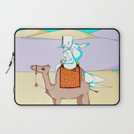 Women of the Earth Series: Woman of the Dessert and Camel Laptop Sleeve
