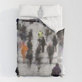 Commuter Art Comforters