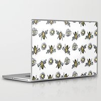 bees Laptop & iPad Skins featuring Bees by rapunzette