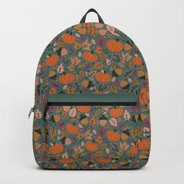 Fall Pumpkin Field Backpack
