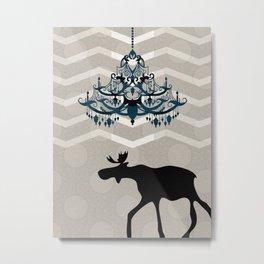 A Moose finds home Metal Print