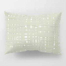 Green straw background Pillow Sham