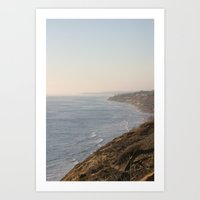 west coast Art Prints featuring West Coast by Jeremy Claywell