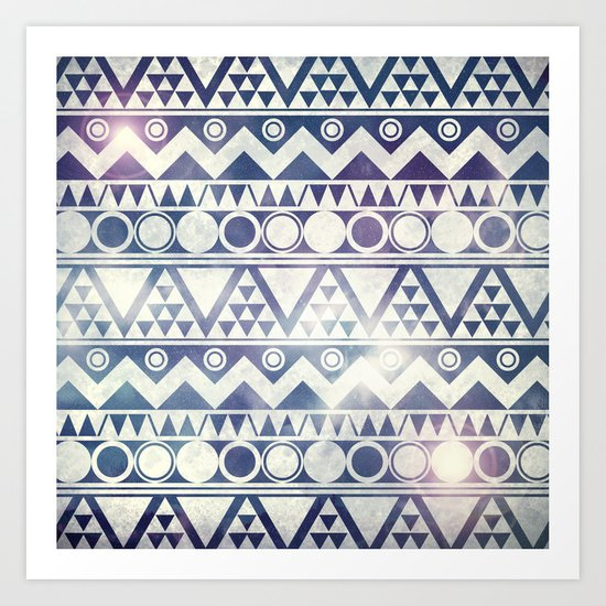Tribal Gathering Art Print