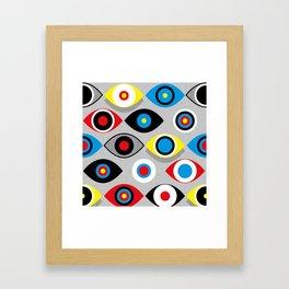 Eye on the Target Framed Art Print