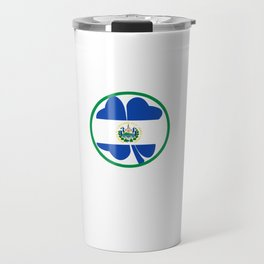 Irish Today Salvadoran Tomorrow St Patrick's Day design Travel Mug