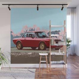 Lancia Fulvia Wall Mural