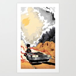 Back to the Future III (Three) Art Print