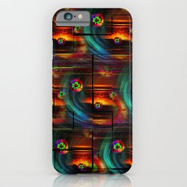 Abstract in Perfection -Good Luck iPhone Case