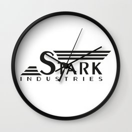 Stark Industries (Tee and Vinyl Cover) Wall Clock