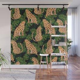 Cheetah Pattern Wall Mural