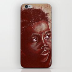 think about africa! iPhone & iPod Skin