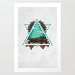 Native Exploration Art Print