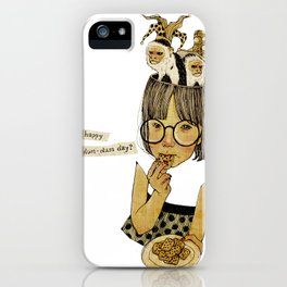 Happy April 1 st! iPhone Case