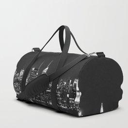 new york skyline Duffle Bag