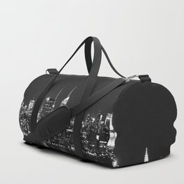 new york skyline Duffle Bag