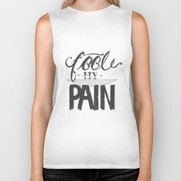 Feel My Pain  Biker Tank