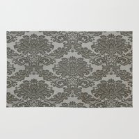 victorian Area & Throw Rugs featuring Victorian by Tania Joy